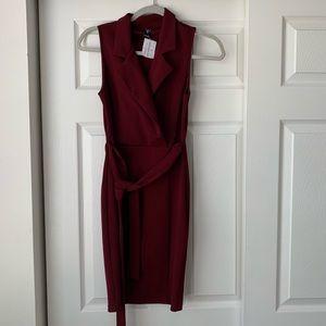 Bodycon Windsor burgundy dress